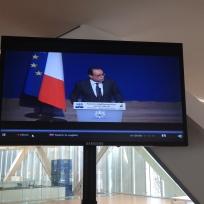 François Holland opens the #MEDCOP21