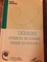 "Ellen Wasylina presents her book in at GDS January 2015 : ""Ukraine : prémices de guerre froide en Europe?"""